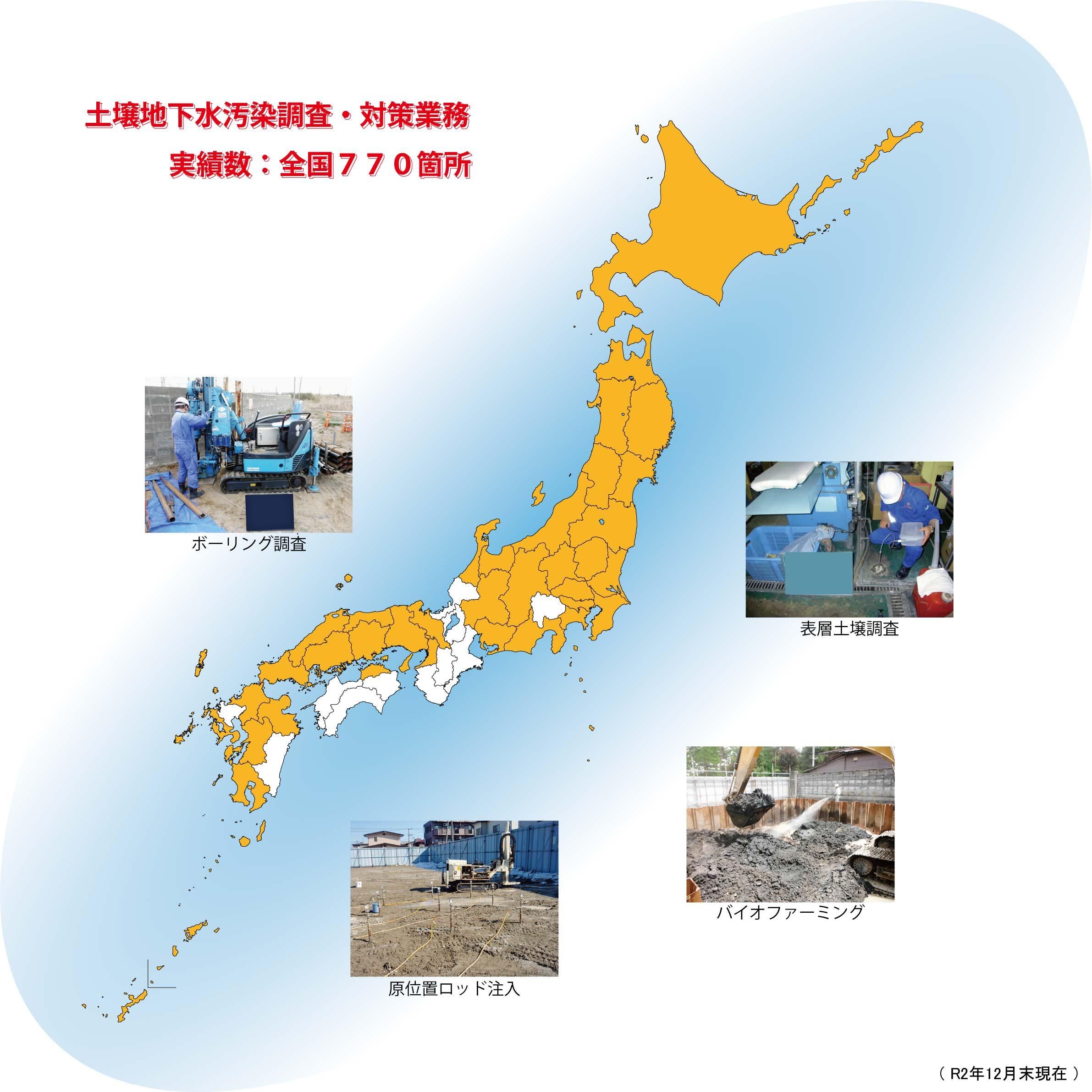 土壌地下水汚染調査・対策業務